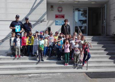 Wizyta w Powiatowej Komendzie Policji w Środzie Wielkopolskiej