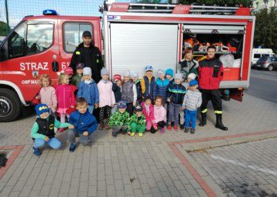 Wizyta strażaków z OSP Mączniki – dziękujemy tacie Marysi K. :)