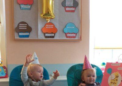 Nasze pierwsze urodzinki – Amelka i Mikołaj
