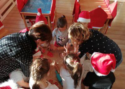 Nasze ozdoby świąteczne :) dziękujemy mamie Emilki