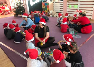 Pomocnicy Świętego Mikołaja :)