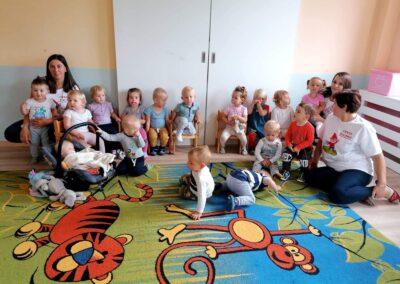 """Dzieci z grupy """"Krasnoludki"""" rozpoczęły nowy rok w żłobku"""