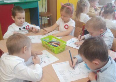Kolorujemy mapę Polski