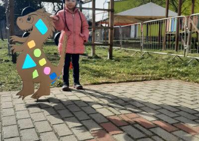 Zabawy ze światłem i cieniem czyli eksperymenty Biedroneczek :)