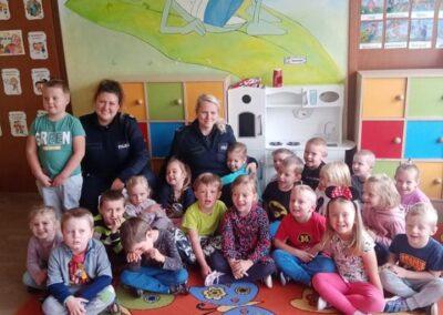 Bezpieczny przedszkolak – spotkanie z policjantem